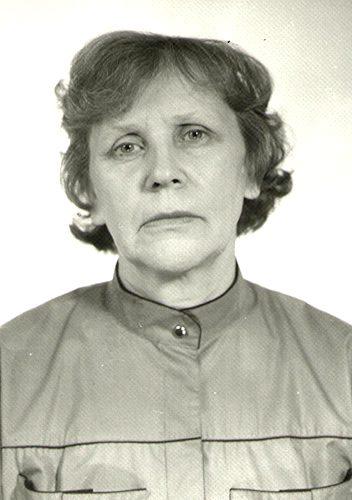 Каримова Александра Ивановна, служащая