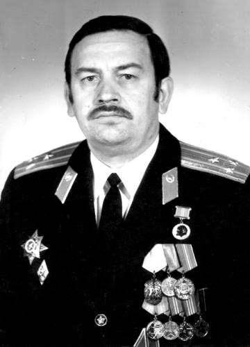 Малыхин Владимир Павлович, полковник