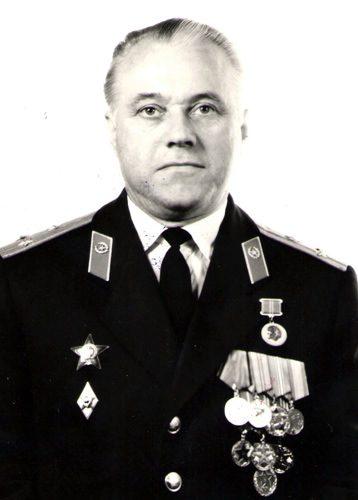Усанов Пётр Георгиевич, полковник