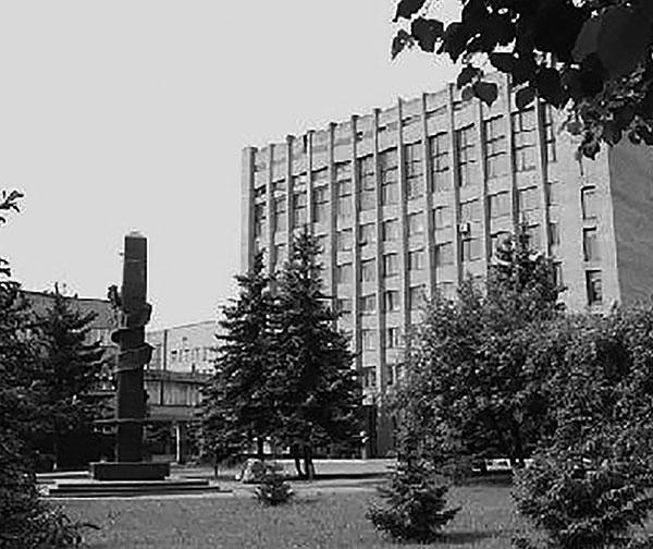 Здание административного корпуса училища