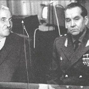 Константин Симонов и Махмуд Гареев.