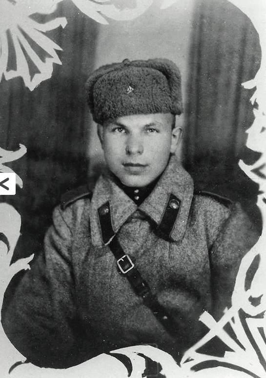 А.И. СОРОКИН на войне.