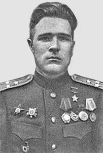 Полковник Михаил Бронников (1944 год).