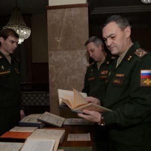 Прикосновение к истории – на конференции в НЦУО была развёрнута выставка архивных документов.