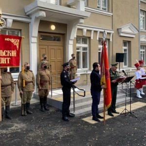 Заместитель Министра обороны России Андрей Картаполов принял участие в открытии Музея Карельского фронта